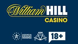 William hill uno dei Casino Online AAMS ADM